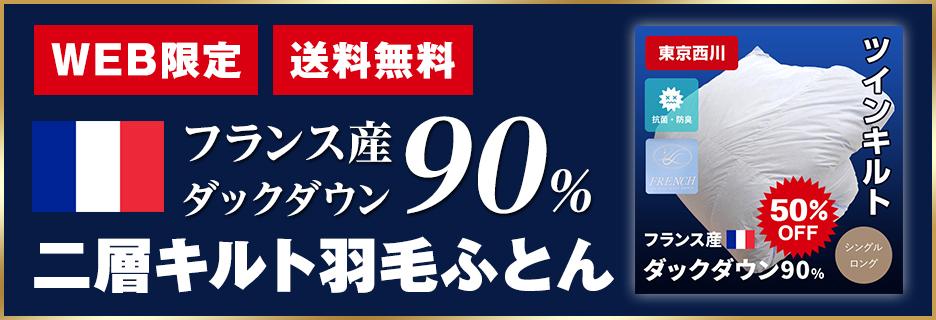 NS羽毛布団(110-507)