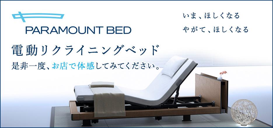 いま、ほしくなる やがて、ほしくなる 電動リクライニングベッド