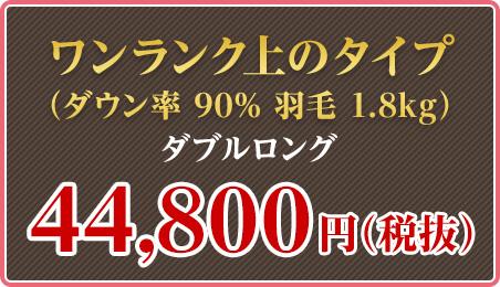 ワンランク上のタイプ ダブルロング 44,800円