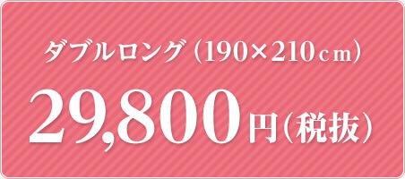 ダブルロング 29,800円